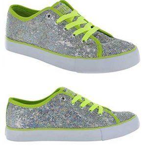 New Gotta Flurt Women's Sequin Sneakers